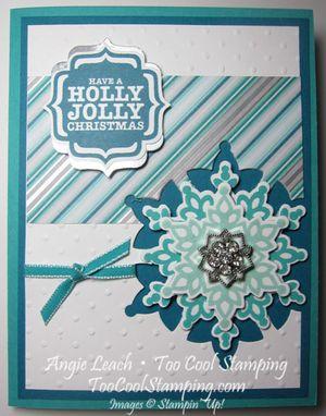 Shoebox festive flurry - jolly
