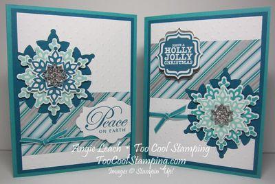 Shoebox festive flurry - two cool