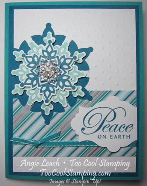 Shoebox festive flurry - peace