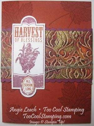 Baroque beauties - cajun harvest