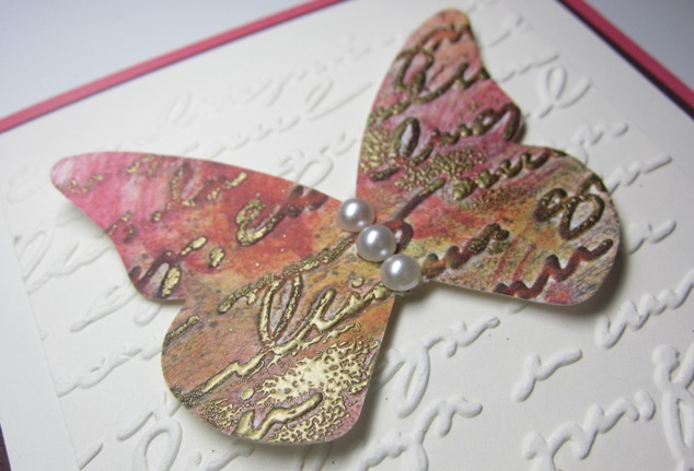Pretty prints sunset - butterfly 2