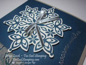 Pretty prints blue - snowflake 2