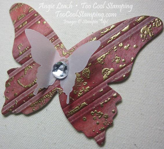Butterfly - stripes