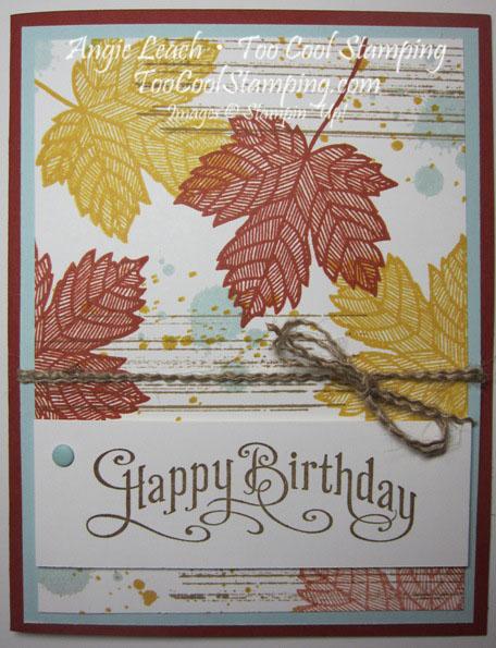 Magnificent maple - birthday