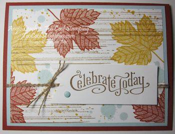 Magnificent maple - celebrate