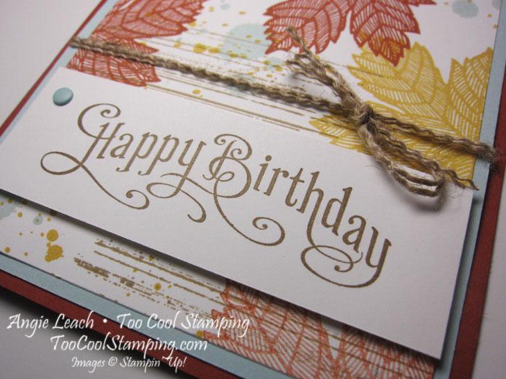 Magnificent maple - birthday 2