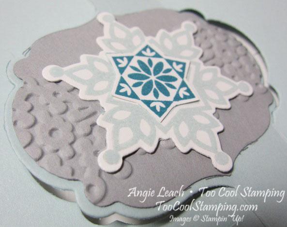 Frosty label thinlit - wide6