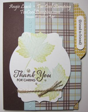 Maple file folder cards - friend to friend