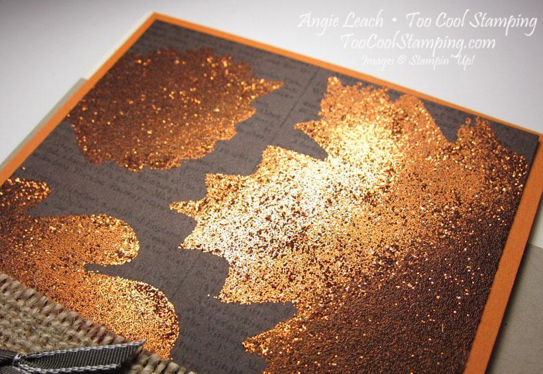 Burnished glitter - thank you2
