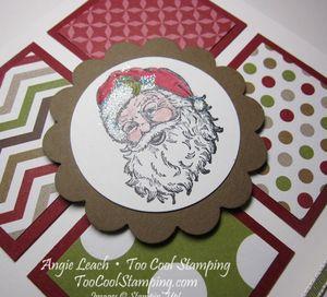 Santa - four squares 2