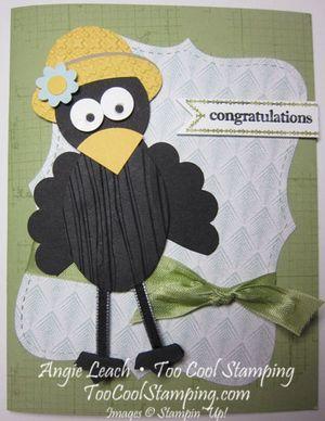 Crow congrats