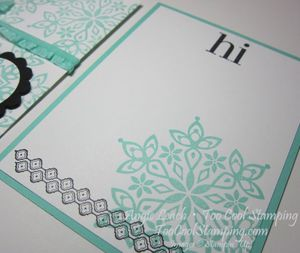 Envelope Pouch Note Cards - flurry 4