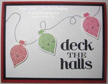 Deck the halls keepsakes - lights