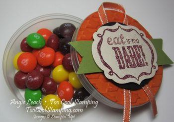 Halloween treats - dare 2