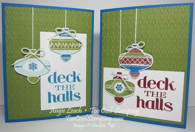 Deck the halls - two cool