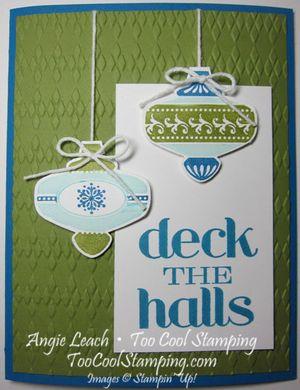 Deck the halls - pool