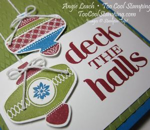 Deck the halls - red 2