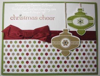 Christmas cheer - idea a copy