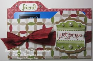 Mini file folder - season