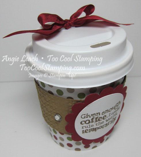 Mini coffee cups - scallop