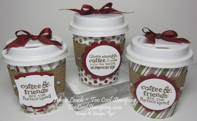 Mini coffee cups - three cool