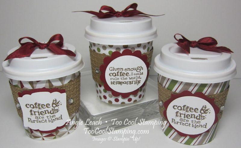Mini coffee cups - three cool