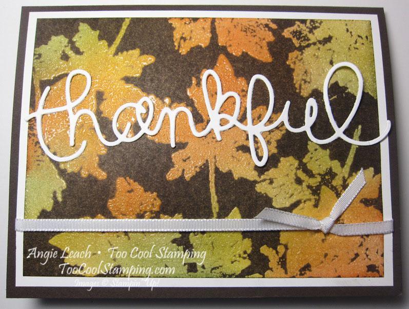 Thankful - bold