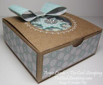 Snowflake ornament box 2