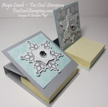 Mini note holder - two cool closed2