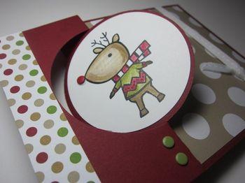 Color Me polka dots - deer 3