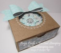 Snowflake ornament box mini
