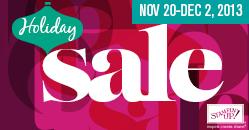 Holiday sale graphic mini