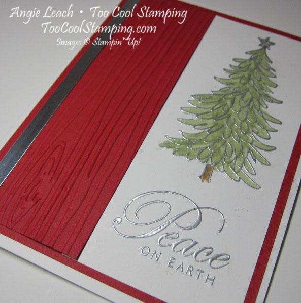 Peaceful evergreen - red2