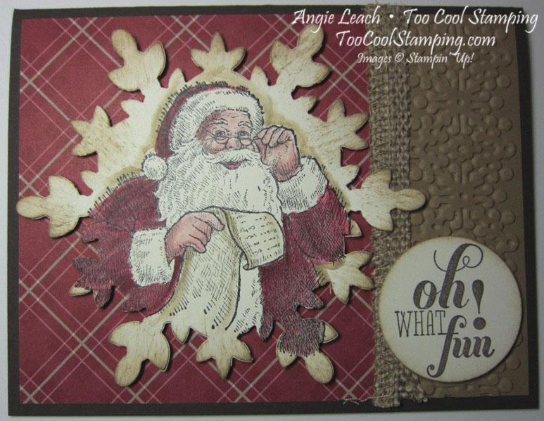 Vintage santa - ohwhatfun