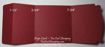 Snow day gift card holder - template copy