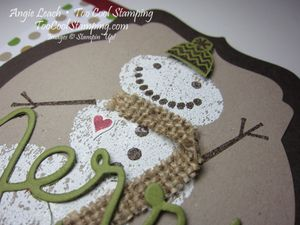 Snow day gift card holder - front3