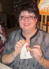 Kathe with muslin bag
