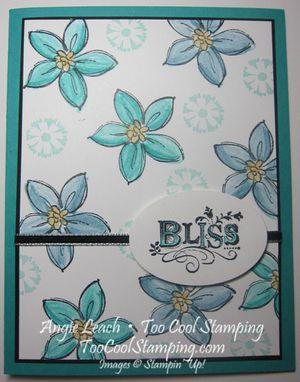 Bliss sab flower - bold