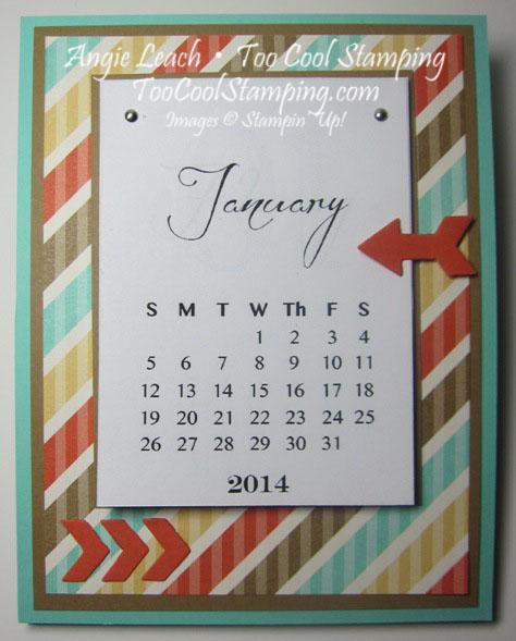 Calendar easel - 2