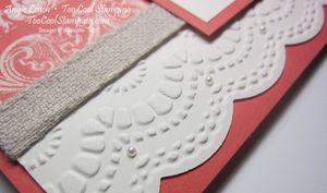 Love coral - heart 3