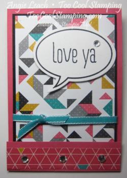 M&m matchbooks - love ya