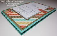 Calendar easel - 6