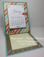 Calendar easel - 1