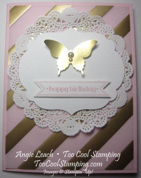 Pink golden - birthday