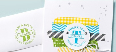 Personalized name stamp CM1743B