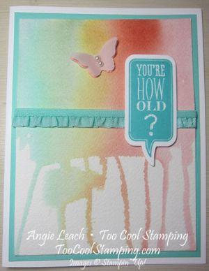 Drip dye - how old