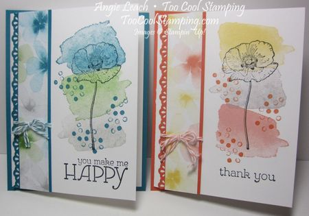 Happy watercolor tro - two cool
