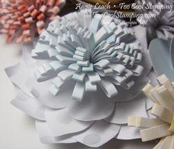 Wreath - gray flower