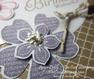 Petite petals layers - birthday 4
