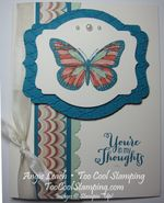 Best of greetings sympathy - butterfly